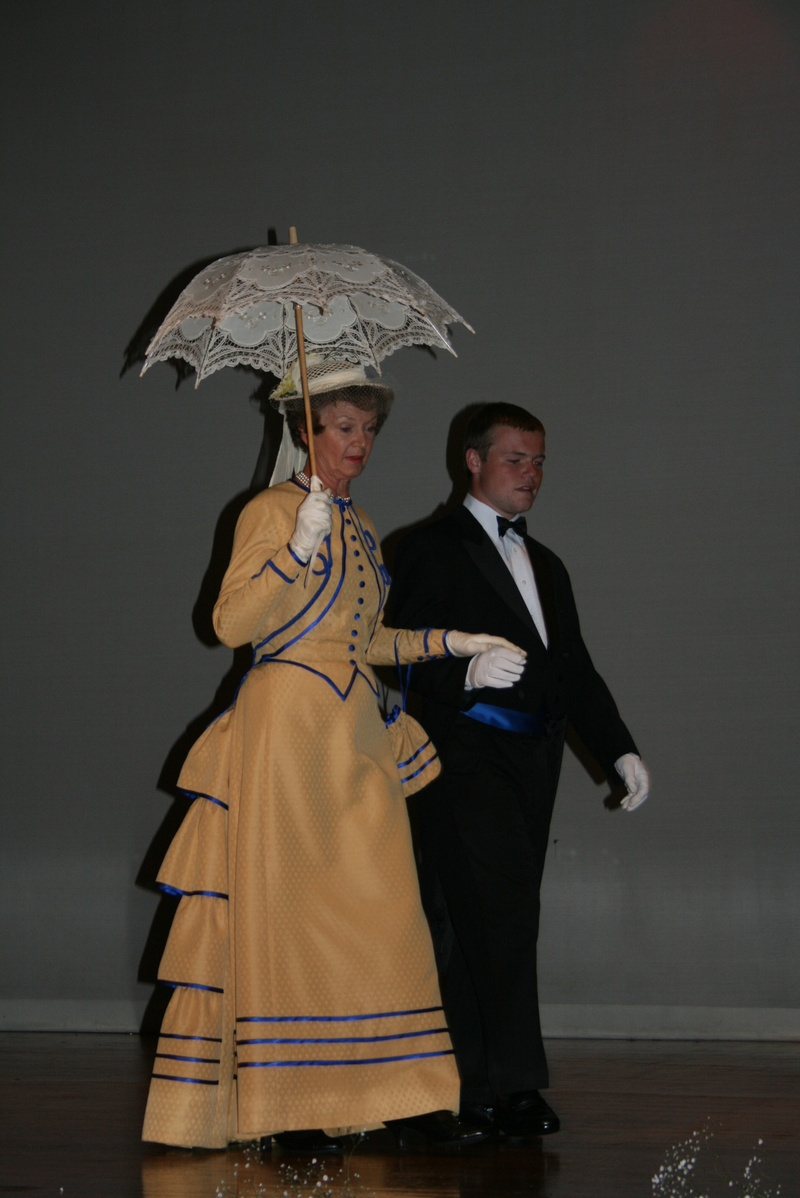 more bustles and parasol